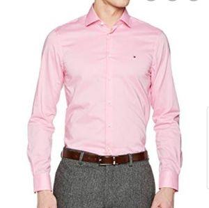 Vineyard Vines Men's Light Pink Dress Shirt